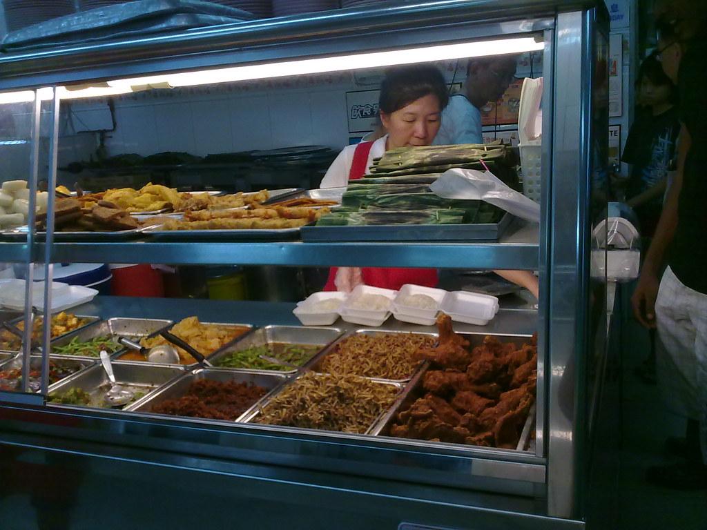 Last meal in Singapore: nasi lemak at the Ponggol Nasi Lemak Centre