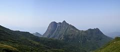 Pico Paraná (ThiagoJ) Tags: autostitch green nature trekking stitch peak pico morro itapiroca