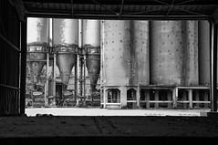 Factory, Vaulx (bm^) Tags: white black industry blackwhite nikon industrial factory belgium belgique zwartwit belgi company zwart wit industrie fabriek vaulx tournai doornik hainaut henegouwen d90 bedrijf  nikond90bw mygearandmepremium mygearandmebronze mygearandmesilver