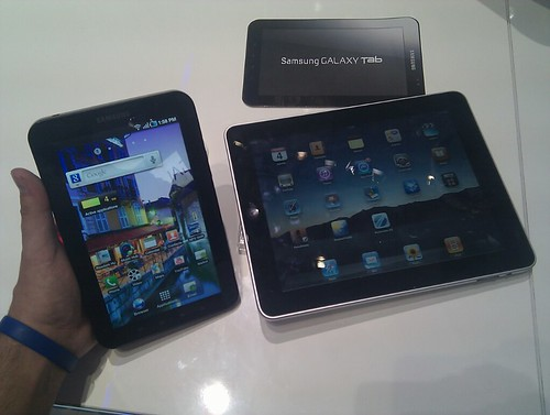 Samsung Galaxy Tab vs iPad #IFA #berlijn
