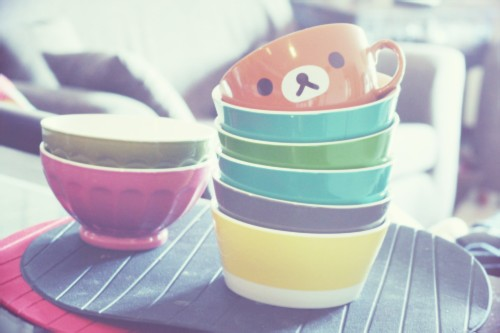 new fav , late bowls & pantone bowls