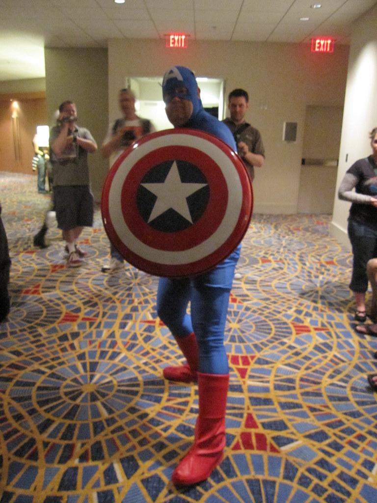 34. A Silver Age comic costume