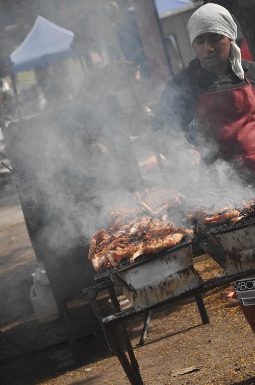 man BBQ chicken 1