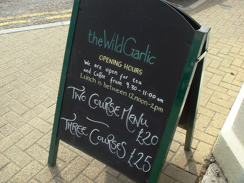 The Wild Garlic - Sign