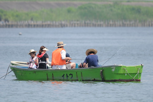 Fshing in Edogawa River