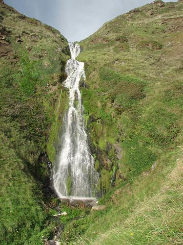 Waterfall on the Lleyn coast