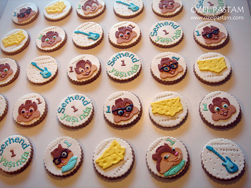 Chipmunks Kurabiyeleri / Chipmunks Cookies