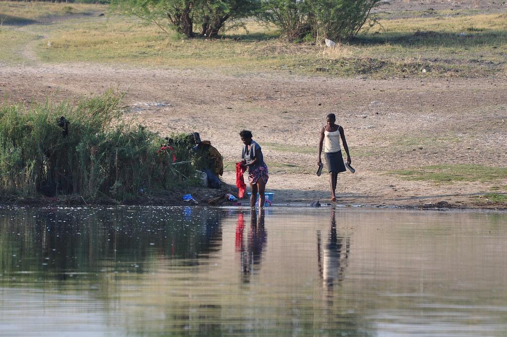 NAMIBIA-THE CUBANGO RIVER-THE ANGOLA BORDER-6