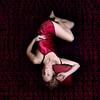 Insomnia (YetAnotherLisa) Tags: red selfportrait clock night time sleep awake insomnia teleidoscope alarmclocknumbers lednumbers