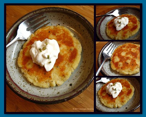 Mashed Potato Pancakes Mosaic