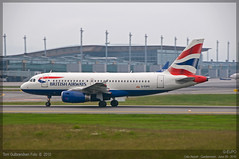 British Airways - G-EUPO - A319-100 (Tom McNikon) Tags: airbus british ba airways britishairways osl gardermoen a319 engm airbus319 a319100 geupo airbus319100 osloairportgardermoen