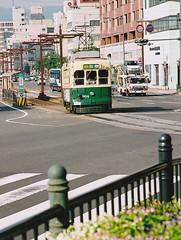 Nagasaki (Takashi K. A) Tags: world 2 night landscape war view tram streetcar bomb atomic slope kyushu nagasaki