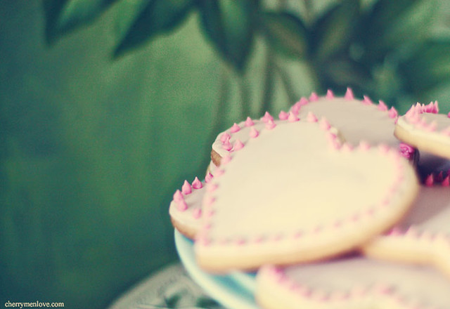 Valentine's Cookies - Cherry Menlove