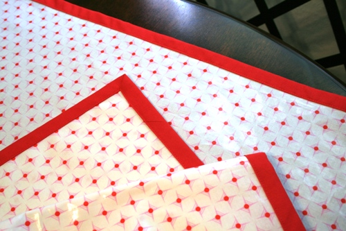 Laminated Cotton Tablecloth