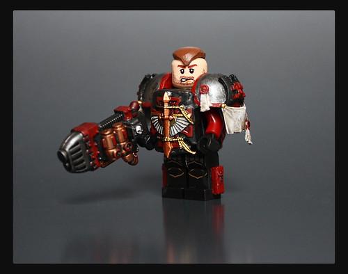 Custom minifig Tiberius custom lego minifigure