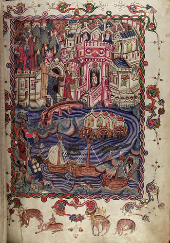 001-folio 1 recto-The Romance of Alexander - MS. Bodl. 264 © Bodleian Library-University of Oxford 1999