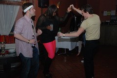 80s Party (Joe Shlabotnik) Tags: dancing charmaine 80sparty faved 2011 february2011