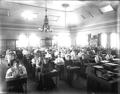 Classroom, retrieved from http://www.flickr.com/photos/keenepubliclibrary/5448223449/sizes/s/in/photostream/ on 4/5/2011