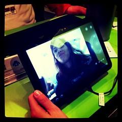 Testing the Motorola Xoom