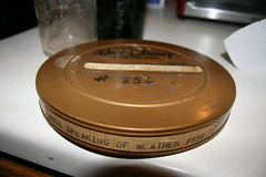 """""""Speaking of the Weather"""" (°ˆº•·-=+=-·•ºˆ°) Tags: abandoned weather found disney artifact 16mm speaking 1937"""