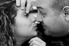 """(bisbiglio [in arte """"sbibb""""]) Tags: portrait bw love smile teatro friend kiss sam bn fernando pizzeria amici ritratto amore bacio amica nando coppia samanta amico volto 123bw ceavessesapute labottegadeicommedianti"""