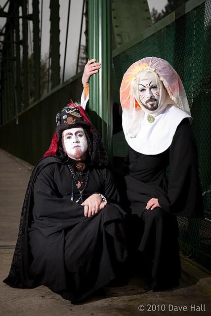 Sisters Dawna Matrix and Frances A. Sissy