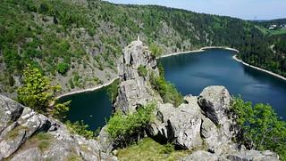 Le lac Blanc (Alt : 1055m) et la légende du Rocher Hans
