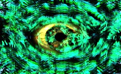 Trippy Eye II (Bongholmes) Tags: eye trippy art arts creative creativity colors gaze fractals dark light hallucinogen dmt lsd trip bongholmes