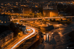 Clifton Bristol (technodean2000) Tags: cityscape landscape bristol night city road lights trees nikon d610 england uk outdoor architecture bridge water dusk serene skyline waterfront river d810