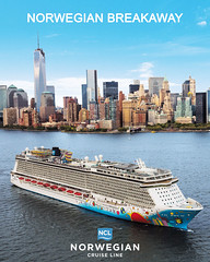 Norwegian Breakaway (kar082000) Tags: manhattan newyork norwegianbreakaway aerial aerials atsea harbor ship ships skyline