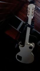 tilt a bit, sing a bit! (ashnakhanal) Tags: guitar studio nepal music musicstudio indoor melody guitarbackview