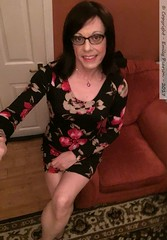 July 2017 (Girly Emily) Tags: crossdresser cd tv tvchix tranny trans transvestite transsexual tgirl tgirls convincing feminine girly cute pretty sexy transgender boytogirl mtf maletofemale xdresser gurl glasses dress indoor tights hose hosiery