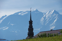 Combloux (Haute-Savoie) (bernarddelefosse) Tags: combloux clocher montblanc hautesavoie rhônealpes