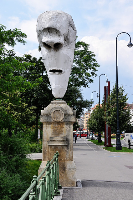 large nose statue