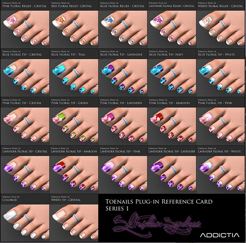 +ADDiCTIA+ Tropica Flip Flops Nails