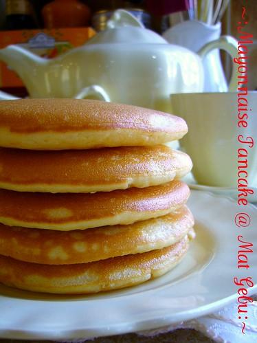 Mayonnaise Pancake