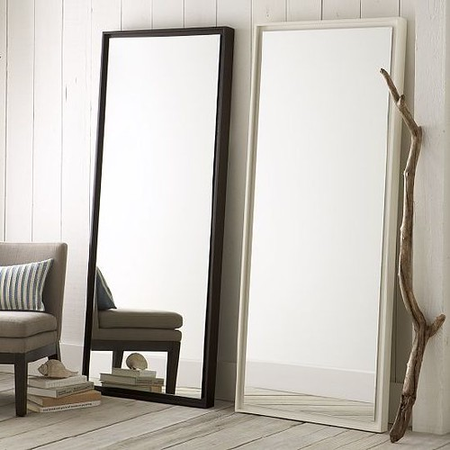 WEST ELM FLOOR MIRRORS
