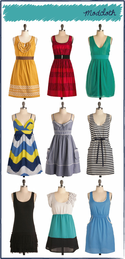 ModCloth: Summer Dresses