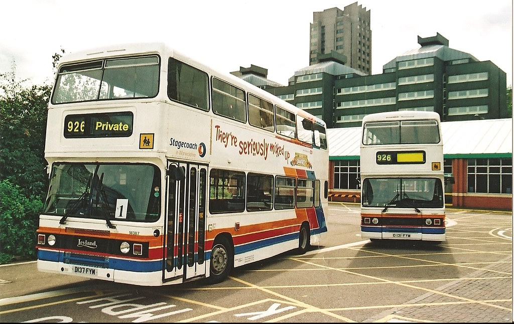 14387 & 14381 on private hire