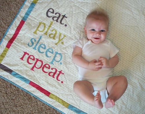Eat. Play. Sleep. Repeat.