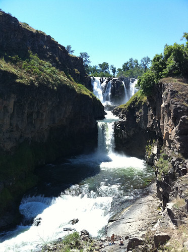 White River Falls -- Upper and Lower