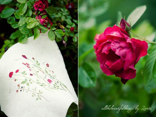 Red Flowers (Kazuko Aoki)