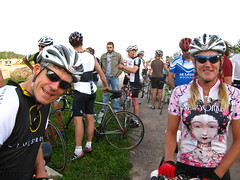 Rick & Mariette at the start