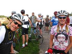 Rick & Mariette at the start
