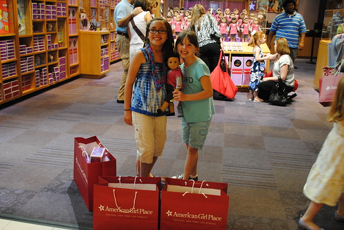 american girl place shopping