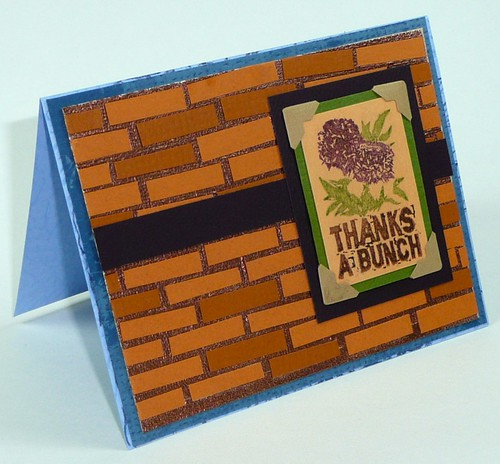 Mosaic tiled card - 3