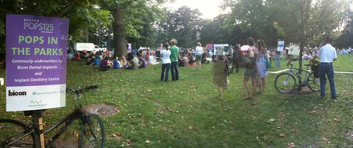Panorama - Pops in the Park - Jamaica Pond
