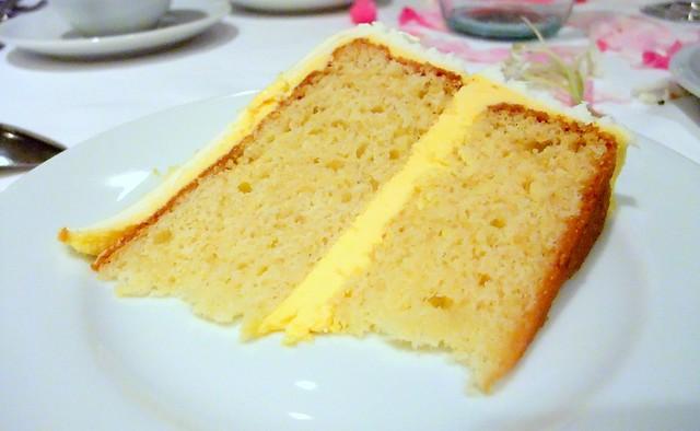 Wedding Cake: Orange Chiffon Cake