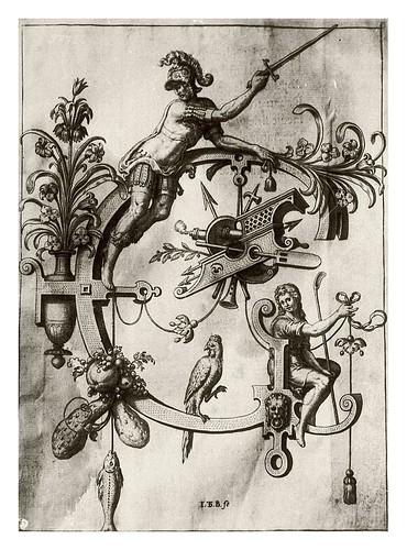 008-Letra G-Germanico-Neiw Kunstliches Alphabet 1595- Johann Theodor de Bry