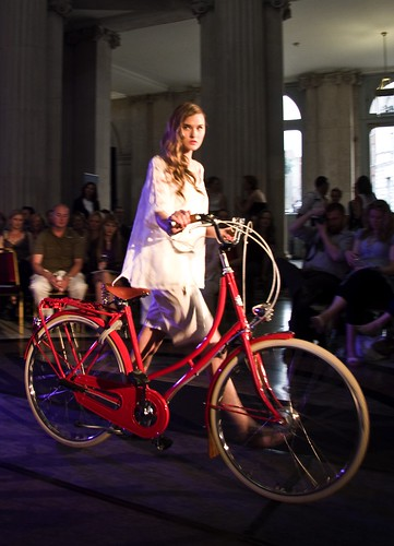 Dublin Cycle Chic Fashion Show 20